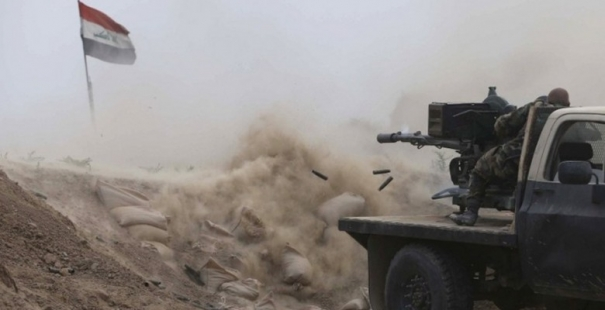 احباط محاولة تعرض لداعش في صلاح الدين وتدمير 6 عجلات وصهريجين