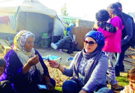 نازحو الموصل يستبشرون بتحرير مدينتهم