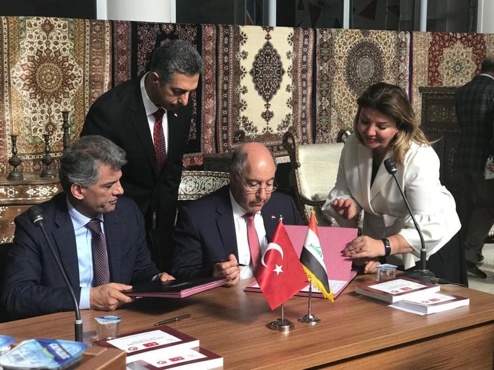 بالصور.. العراق وتركيا يوقعان اتفاقية لإعادة قطع آثار ونفائس عراقية مسروقة