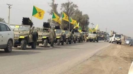 كتائب حزب الله : نرفض التفاوض ولغتها الوحيدة مع الامريكان هي الرصاص فقط