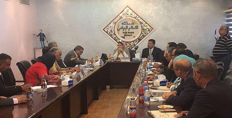 شبكة الاعلام تحتضن الاجتماع الـ12 لمشروع بغداد عاصمة الابداع الادبي