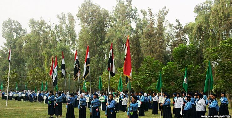 مخيم كشفي في الموصل بمشاركة طلبة من جميع المحافظات